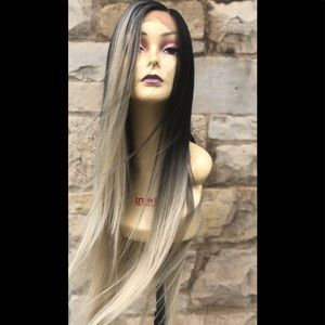 Accessories - Blonde ombré New Lacefront Wig 2020